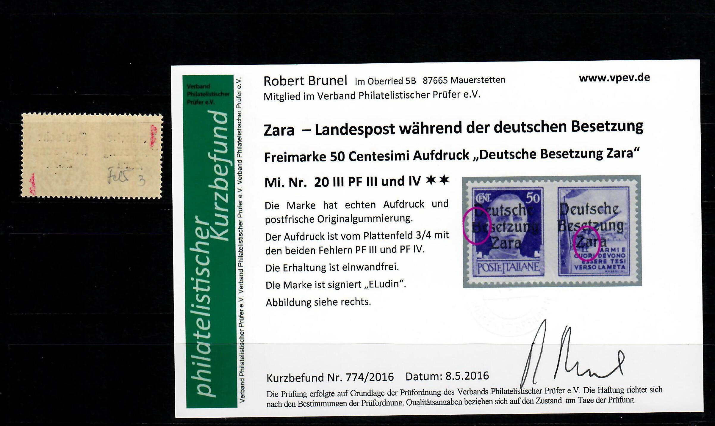 Briefmarken 1703 Tag Der Philatelisten 10+5 Pf ** Deutschland