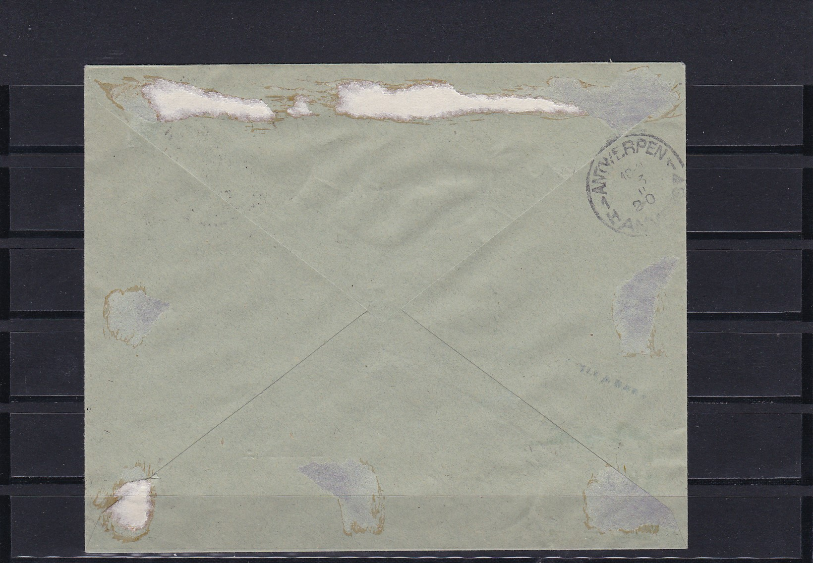 Brief Mit Einschreiben : Eupen einschreiben brief mit minr a · philarena