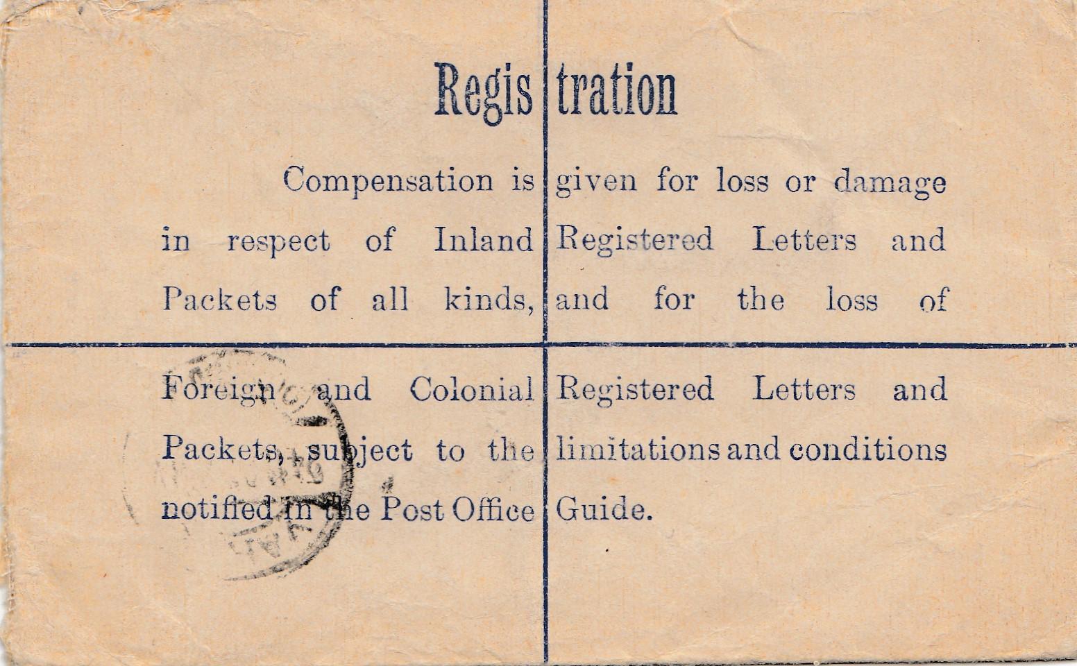 Briefe Nach Irland : Irland ganzsache registered larne nach oldenburg