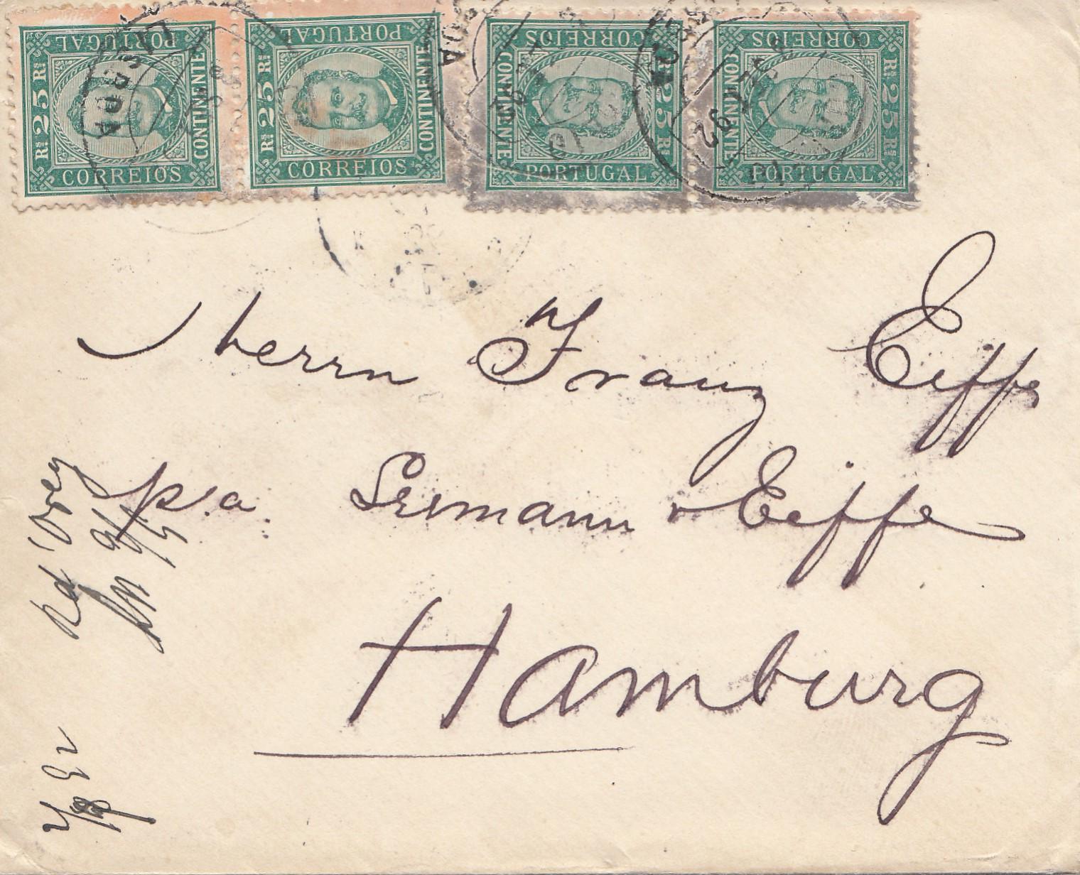Brief Nach Hamburg Briefmarke : Portugal brief nach hamburg mef · philarena