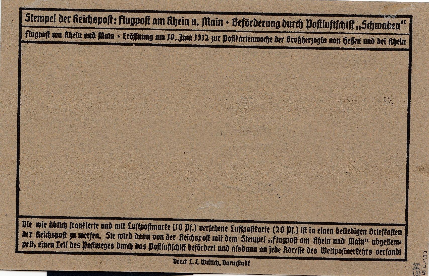 flug post karte minr iii echt einwandfrei flugpost rhein main selten sign philarena. Black Bedroom Furniture Sets. Home Design Ideas